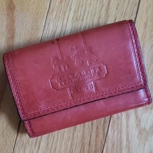 Coach Wallet - Red and Pink